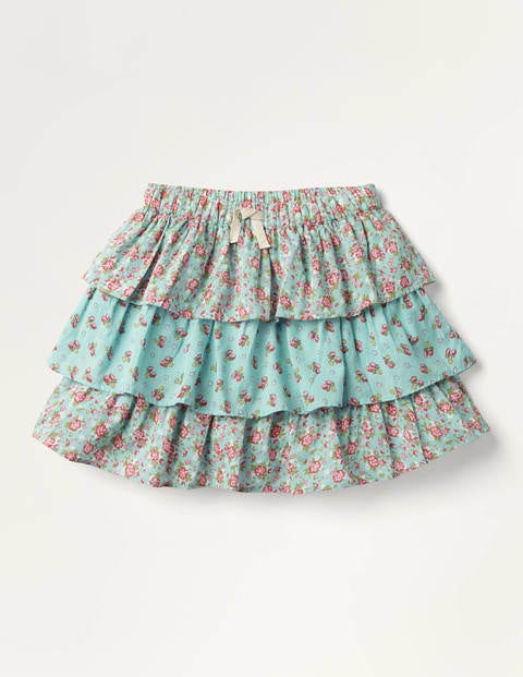 Vintage Posy Tiered Skirt
