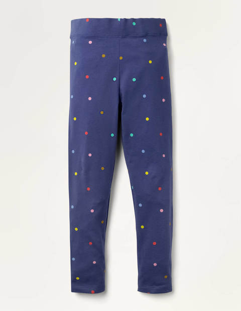 Fun Leggings - Starboard Blue Confetti Spot