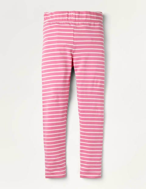 Fun Leggings - Cherry Blossom Pink/ Ivory