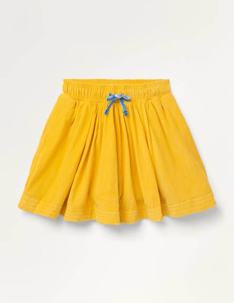 Woven Twirly Skirt - Honeycomb Yellow