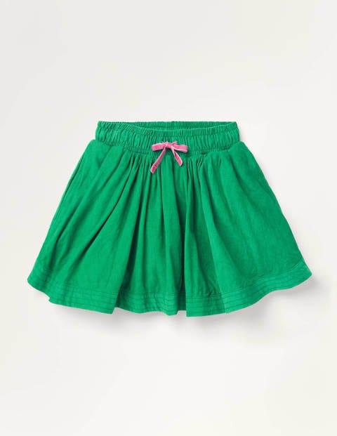 Woven Twirly Skirt - Highland Green