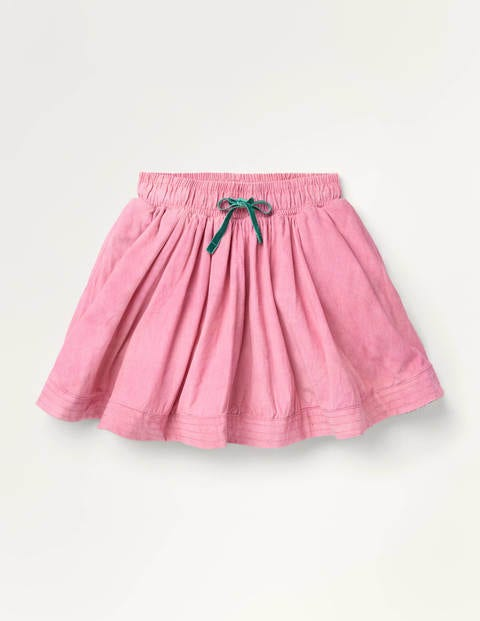 Woven Twirly Skirt - Formica Pink