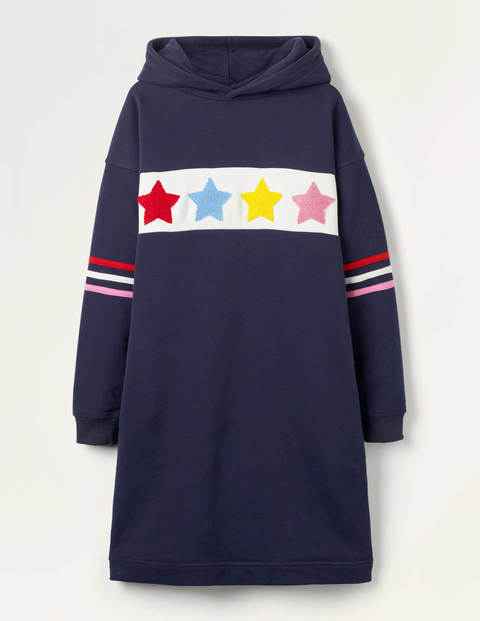 Cosy Hooded Jersey Dress