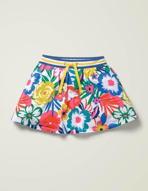 Jersey Skort - Multi Tropical Bloom