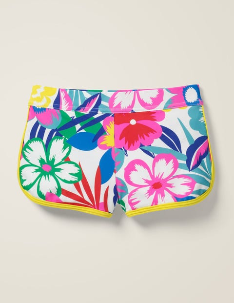 Swim Shorts - Multi Tropical Bloom