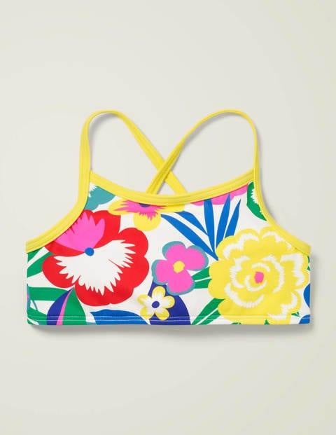 Patterned Bikini Top