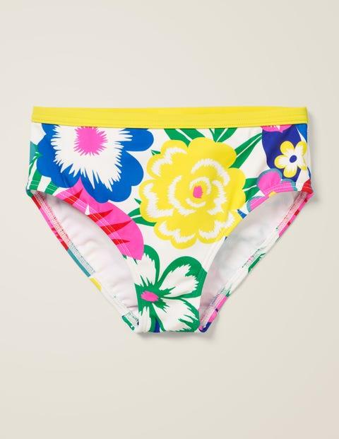 Patterned Bikini Bottoms