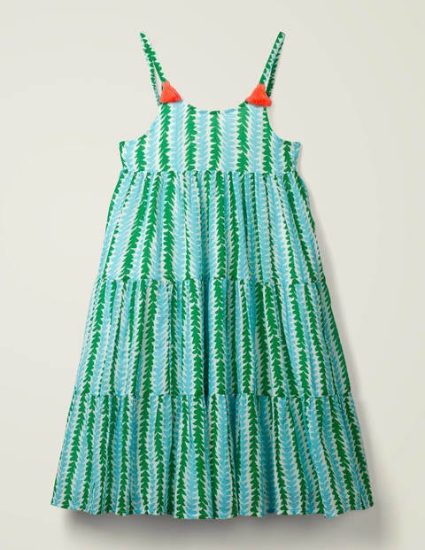 Tiered Tassel Dress