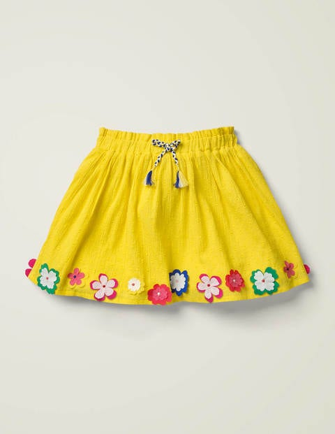 Hula Flutter Skirt - Lemon Zest Yellow