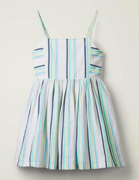 Stripe Woven Dress - Corsica Pink/ Rosebay