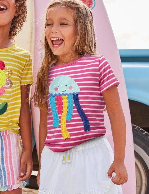 Tassel Appliqué T-shirt