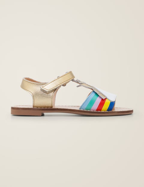 Vacation Sandals - Gold Metallic   Boden US