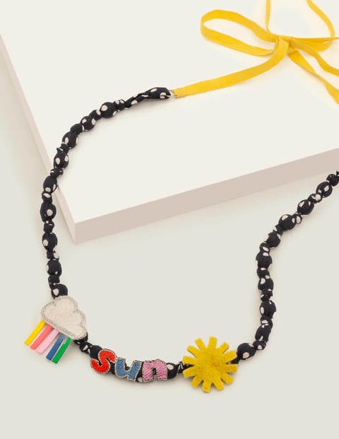 Fabric Necklace - Sunshine