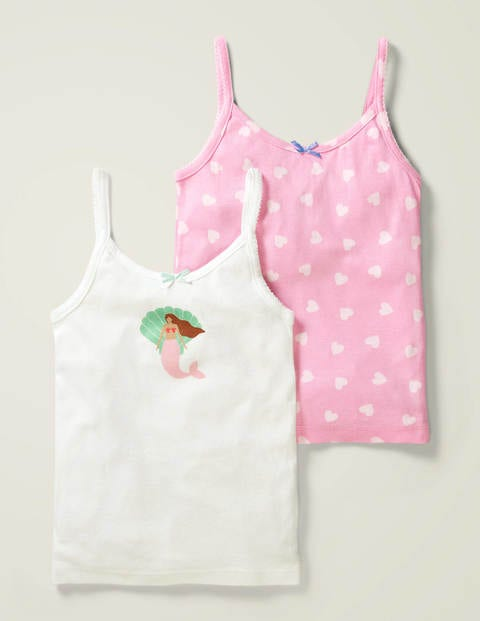2 Pack Vests - Mermaid