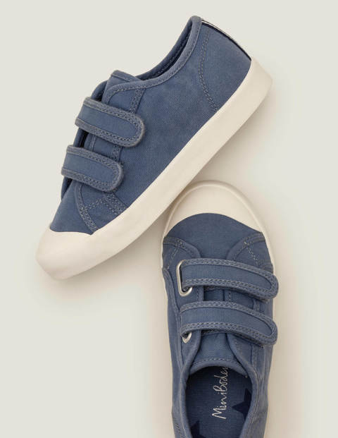 Double Strap Canvas Shoes - Sea Mist Blue