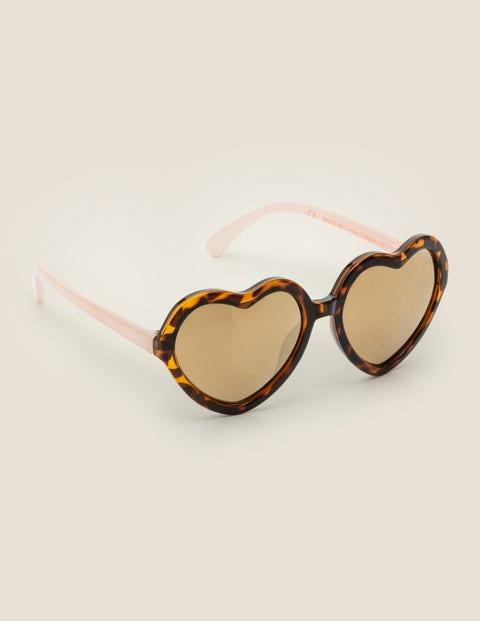 Sonnenbrille - Braun, Schildpattmuster