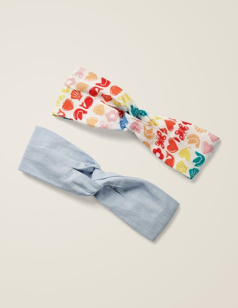 2 Pack Headbands - Maritime Geo
