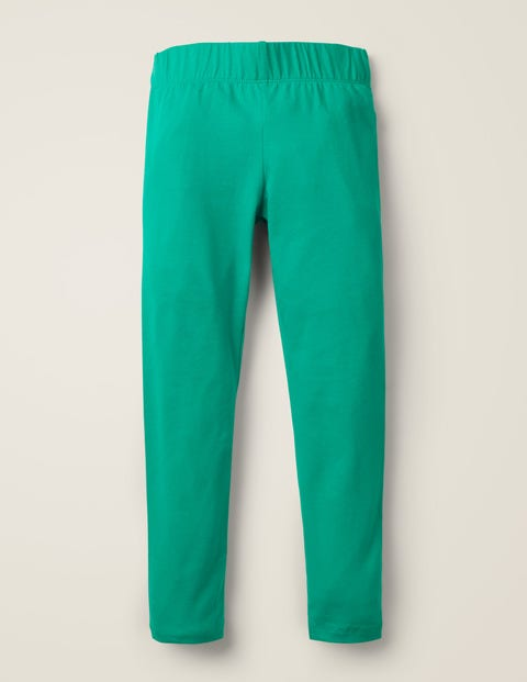 Plain Leggings - Emerald Green