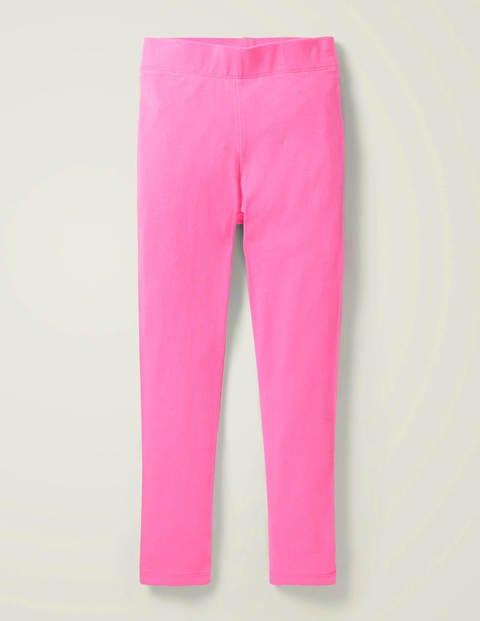 Plain Leggings - Strawberry Milkshake Pink
