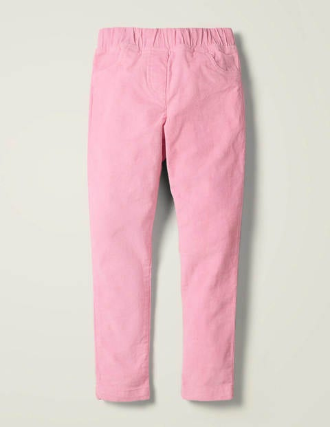 Cord Leggings - Strawberry Milkshake Pink