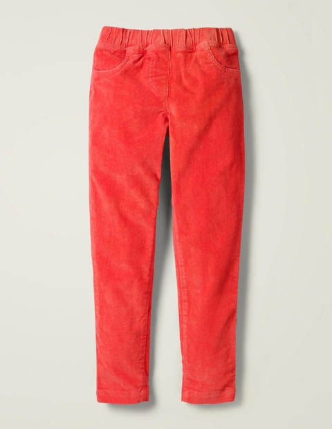 Cord Leggings - Strawberry Tart Red