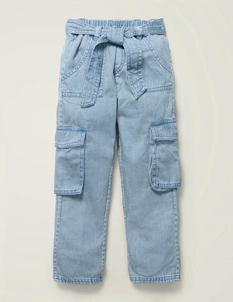 Cargo Trousers - Chambray