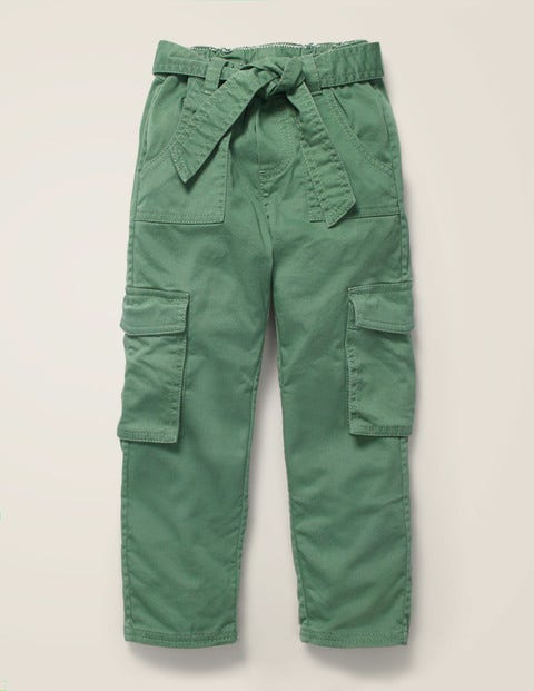 Cargo Trousers - Rosemary Green