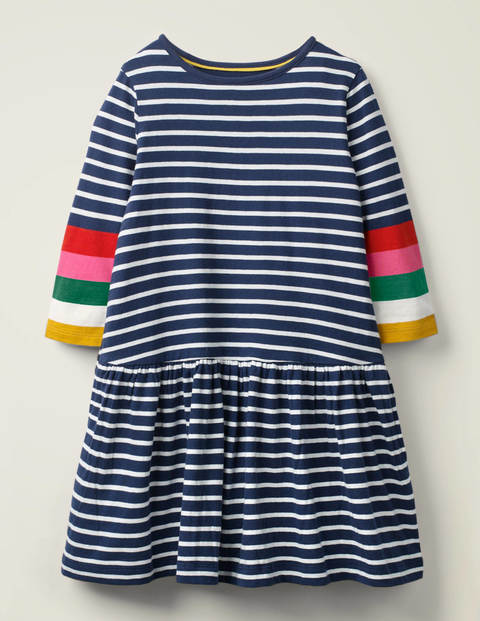 Stripy Jersey Dress