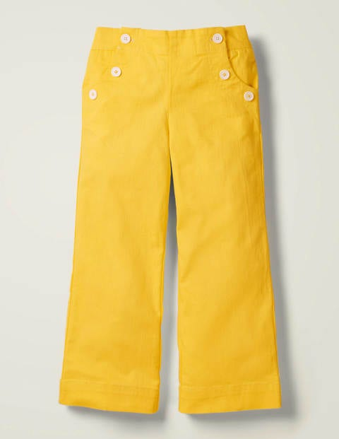 Button Front Sailor Pants