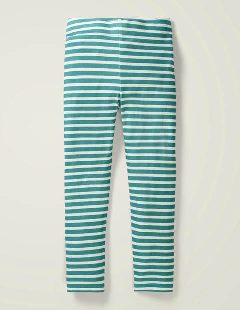 Fun Leggings - Green/Ivory
