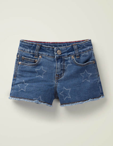 Denim Shorts - Mid Vintage Stars