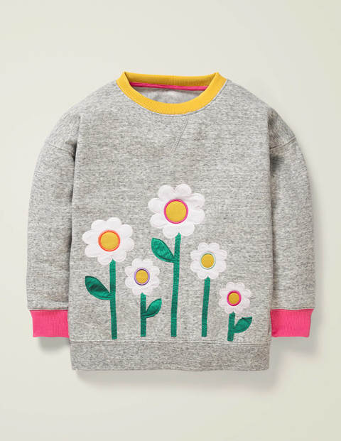 Bequemes Sweatshirt mit Applikation