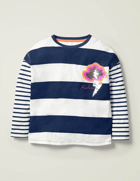 Stripy Colour Change T-shirt