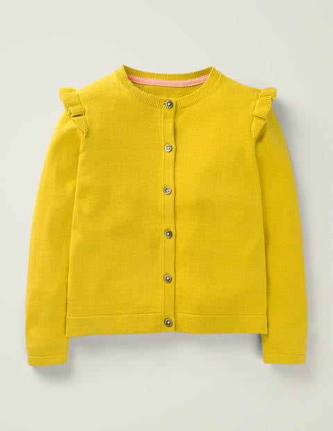Everyday Cardigan - Daffodil Yellow
