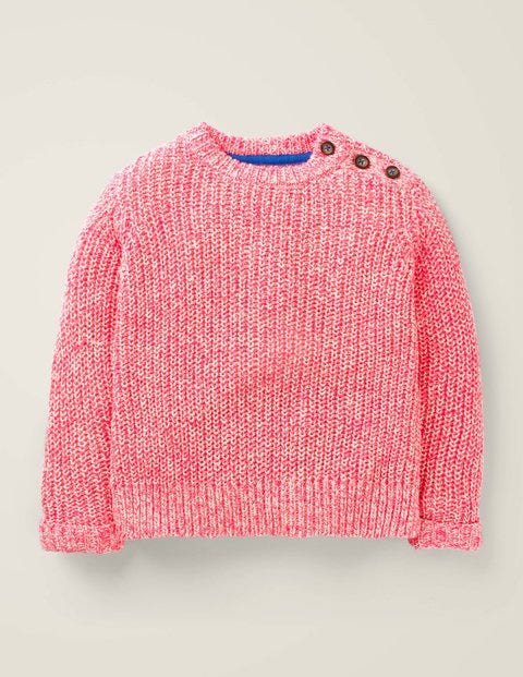 Nautical Jumper - Festival Pink/Ivory