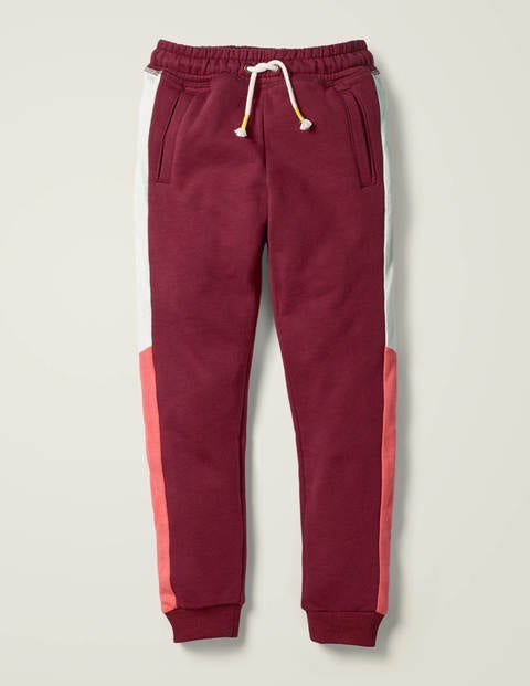 Cosy Colourblock Joggers