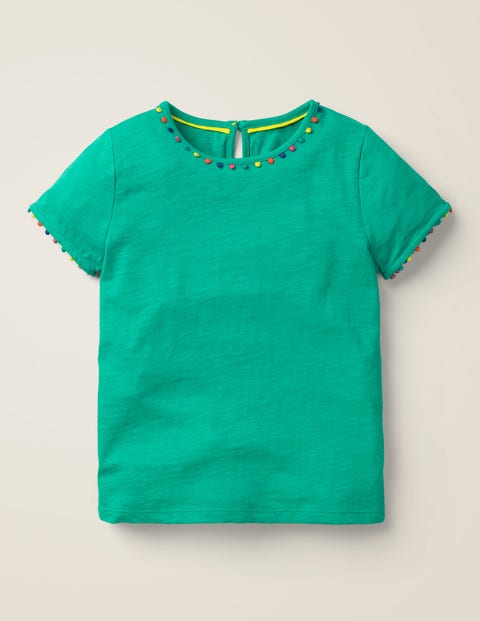 Mini Me Charlie Jersey T-Shirt - Emerald Green