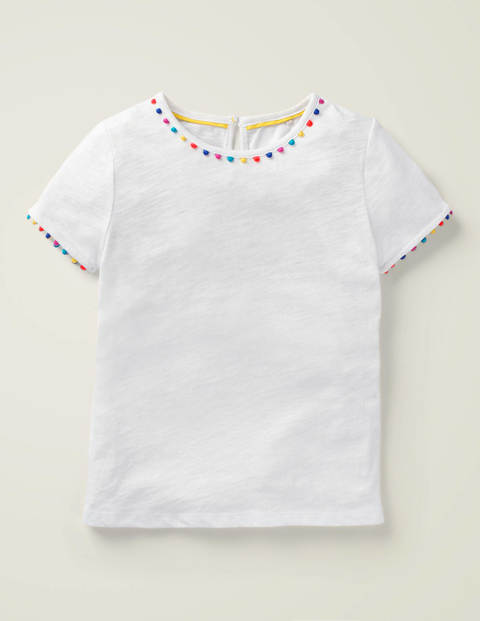 Mini Me Charlie Jersey T-Shirt - White