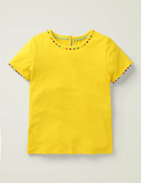 Mini Me Charlie Jersey T-shirt - Daffodil Yellow