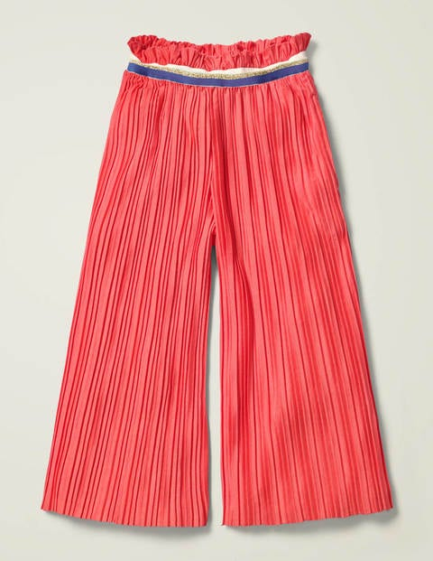Sparkle Waist Pleated Trousers