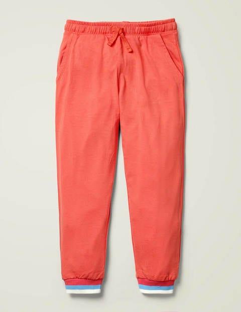 Lightweight Jersey Joggers - Peach Melba Pink