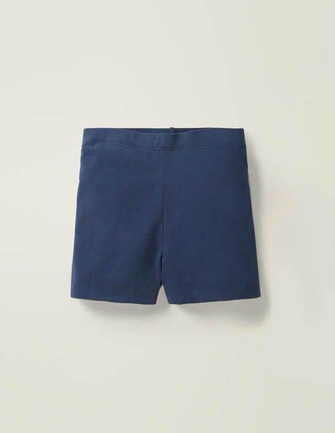 Basic-Jerseyshorts - Schuluniform-Navy