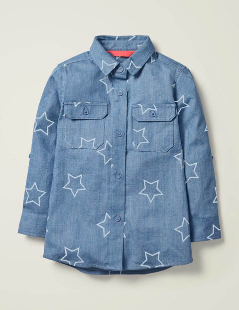 Utility Shirt - Denim Star