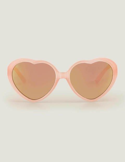 Sonnenbrille - Rosa, Herzform
