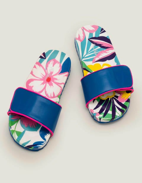 Pool Slides - Multi Tropical Bloom