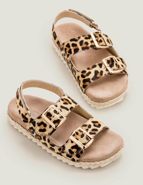 Espadrille Leather Sandals