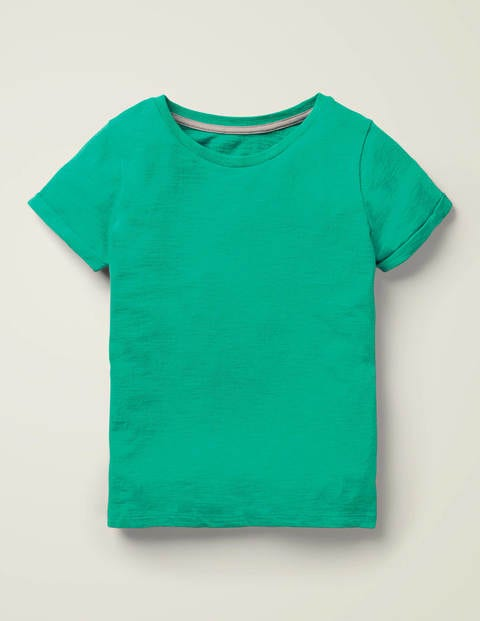 Slub T-shirt - Emerald