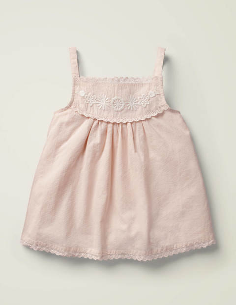 Embroidered Strappy Top - Provence Dusty Pink