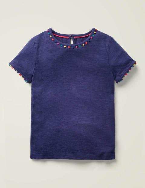 Mini Me Charlie Jersey T-Shirt - Indigo Navy