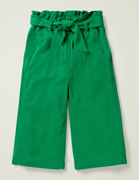 Tie-waist Wide Leg Pants